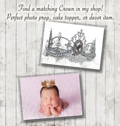Princess Baby Shower Invitation For Girl Vintage por jjMcBean