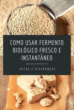 Universo dos Alimentos² - fermento biológico