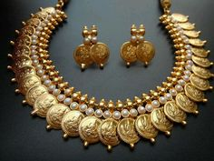 Lakshmi haar or necklace, named after goddess of wealth, traditional at its best.