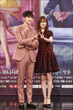 "Will Lee Jong-suk and Han Hyo-joo's ""W"" overtake ""Uncontrollably Fond"" Suzy and Kim Woo-bin? @ HanCinema :: The Korean Movie and Drama Database"