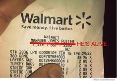 and he works at walmart!