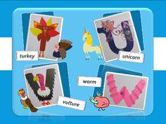 "Speak English!: English for little ones: ""Живой"" английский алфавит (from T to Z)"