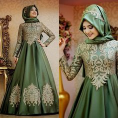 Cheap muslim hijab evening dresses, Buy Quality hijab evening dresses directly from China evening dress Suppliers: robe de soiree Olive Muslim Hijab Evening Dresses With Long Sleeves High Neck Long Evening Party gown Floor Length Prom Dress Muslim Wedding Dresses, Muslim Dress, Bridal Dresses, Prom Dresses, Muslim Hijab, Hijab Evening Dress, Evening Party Gowns, Evening Dresses, Hijab Abaya