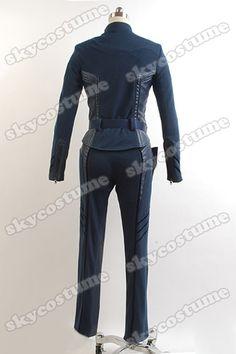 Agents of S.H.I.E.L.D. Deputy Director Maria Hill Uniform Costume Cosplay -Skycostume