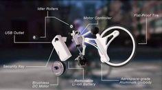 Un dispositivo que transforma cualquier bicicleta en eléctrica