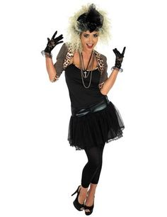 Pop Star Fancy Dress Ladies Madonna Celebrity Womens Adult Costume New… - Party Outfits Madonna Outfits, Retro Costume, Costume Dress, Fancy Dress Costumes For Women, Fancy Dress Womens, Fancy Dress Outfits, Dress Up, 80s Fancy Dress Ideas, Anos 60