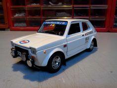 Caselli Model Transkit Burago 1/24 - Fiat 127 Gr.2
