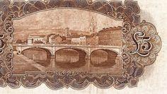 'ploughman' note (reverse design - detail, showing St Patrick's Bridge, Cork) Old Irish, St Patrick, Vintage World Maps, History, Rivers, Banks, Cork, Bridge, Things To Sell