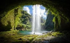 A secret spot in New Zealand I wish I can one day experience! - Paradise Pool…