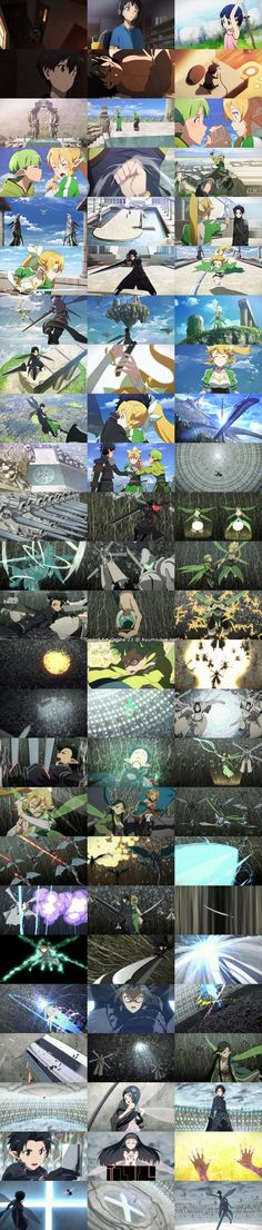 Sword Art Online Episode 23 - Bonds (絆) SNAPSHOT......and all of that happened.<----- I am thoroughly impressed by whoever took these.