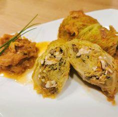 """Páči sa mi to: 162, komentáre: 3 – Antónia Mačingová (@antonia_macingova) na Instagrame: """"V predchádzajúcom príspevku sme si povedali o zdravotných benefitoch kelu.  Poďme na prvý…"""" Cauliflower, Tofu, Chicken, Meat, Vegetables, Red Peppers, Food Food, Cauliflowers, Vegetable Recipes"""