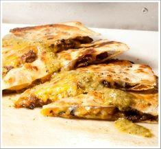 Recipe for Blackjack Quesadillas from chef Roy Choi of Kogi food trucks in Los Angeles, CA.