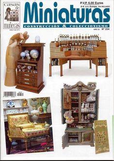 Casa De Muñecas Y Escena En Miniatura Revista-Edición 227