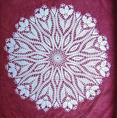 List of free doily patterns!