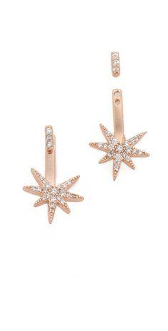 Shashi Star Earring Jackets   SHOPBOP