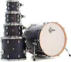 "Gretsch Drums Marquee 5-Piece Shell Pack with 22"" Bass - Satin Indigo 