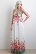super cute maxi for spring!