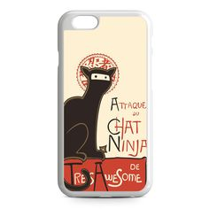 A French Ninja Cat iPhone 6 Case