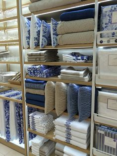 This blue made us want to throw everything out and redecorate our bedrooms.