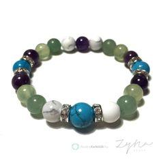 Zsíranyagcserét serkentő ásvány karkötő Natural Stone Jewelry, Natural Stones, Jewelry Ideas, Dangles, Beaded Bracelets, Tech, Diet, Crystals, Pearl Bracelets