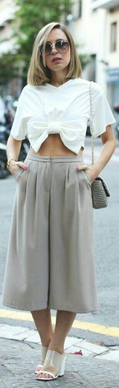 Culottes / Fashion by My Showroom Blog