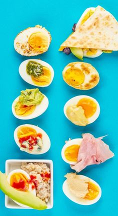 Looking for a snack that fills you up and fuels you well? Whether it's for weight loss, for kids, or anything else, healthy, protein-packed hard-boiled eggs have MVP status in my book. They couldn't be more easy or simple to cook,, and you hardly need recipes! Here are 10 snack ideas to try.