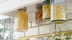 tipy na skladování nádobí,čistících prostředků a potravin v kuchyni