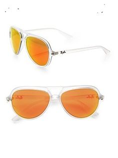 Ray-Ban Cats 5000 Plastic Aviator Sunglasses