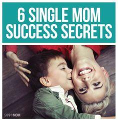 """Secrets"" to success as a single mom. #teenparentingadvice"