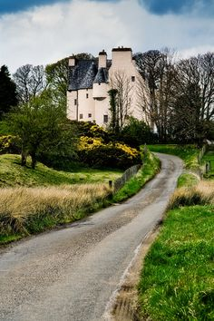 Barcaldine Castle creates a fairy tale looking scene near Oban, Scotland