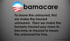 Obamacare, a terrible failure that has costed millions, millions.