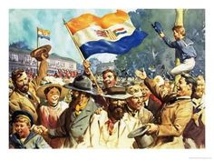 size: Giclee Print: Birth of the Union of South Africa by James Edwin Mcconnell : Artists News South Africa, Union Of South Africa, South African Flag, South African Air Force, Durban South Africa, African Union, Africa Flag, National Flag, African History