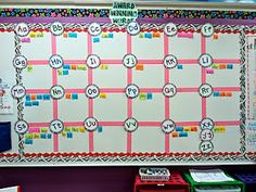 Word Wall Idea?   First Grade Fresh: Classroom Pictures