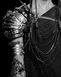 chains. jewelled armour