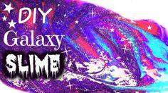 DIY Galaxy Slime - How to make SLIME