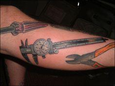 Machinist tattoos