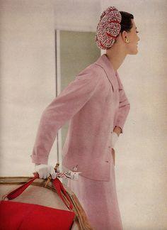 Barbara Mullen, Vogue 1955