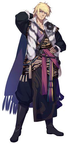 Character   Thunderbolt Fantasy - Juǎn Cán Yúnāo / Hán Hè (Ken San Un / Kankaku)