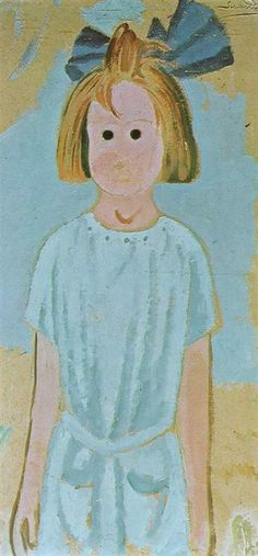 Salvador Dali Portrait of My Cousin Ana, Maria Domenech, 1923