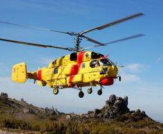 Российские вертолеты обеспечивают пожарную безопасность южной Европы