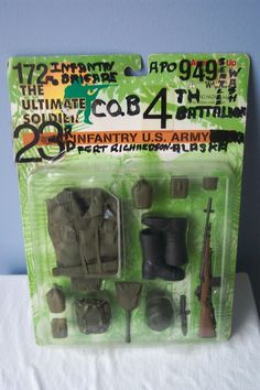 The Ultimate Soldier - 1st Infantry U.S. Army - 12 inch Figure Gear Collectible #21stCenturyToys