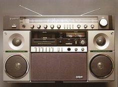 Boom. | Present&Correct Record Players, Hifi Audio, Boombox, Old Tv, Audio Equipment, Audiophile, Draw, Technology, Mini