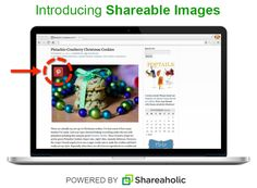 Take #social sharing to a whole new level by making your images sharable.