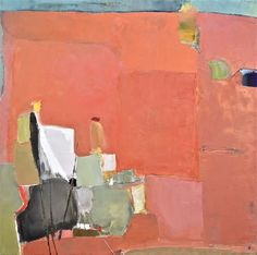 """Caroline Marshall, Easy Pieces, Oil on canvas, 30"""" x 30"""" www.musegallery.ca"""