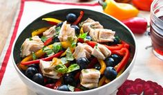 Make Life Easy with this Tuna and Blueberry Salad recipe! LIKE us at https://www.facebook.com/goldseal #cannedtuna #nodraintuna #easyrecipes
