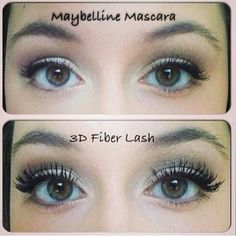 What an amazing difference in the before and after! ! Love my new lashes♡♥♡ Thanks to 3D Fiber Lashes by Younique!! www.youniqueproducts.com/AshleighKocher/party/363623/view