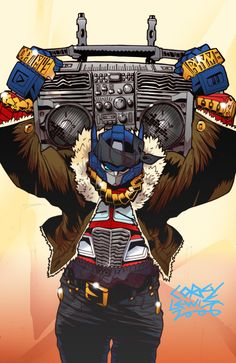 Optimus Rhyme. Kind of a badass.  firm it up - what along the lines as to what i was thinking