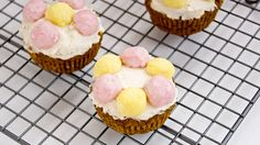 Springtime Carrot (Cup)cake + So Delicious Giveaway Winners! Easter Cupcakes, Food Allergies, Carrot Cake, Get Healthy, Gluten Free Recipes, Real Food Recipes, Carrots, Cheesecake, Snacks