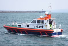 SALTHOLME heading for the Marina just after launch from Holyhead Boatyard.