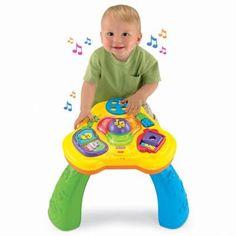 Mesa de atividades divertida fisher price. Alegria e desenvolvimento para seu bebê. Pratique sustentabilidade, alugue com a brinquedo e brincadeira.